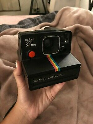 Poloroid Land Camera, instant 1000 deluxe, vintage