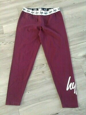 Hype Girls Lovely Pair Of Sportswear Leggings Size 13Yrs (C3)