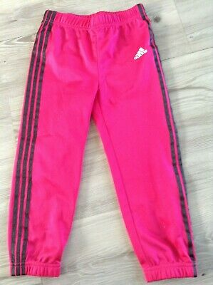 Adidas Girls Lovely Pair Of Sportswear Joggers Age 3-4Yrs(C3)