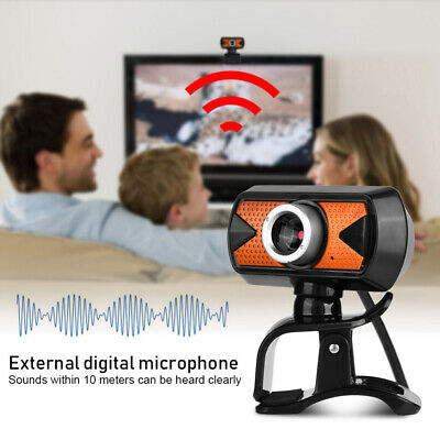 HD 16 Megapixels USB 2.0 Webcam Camera with MIC Clip-on for Computer PC Laptop