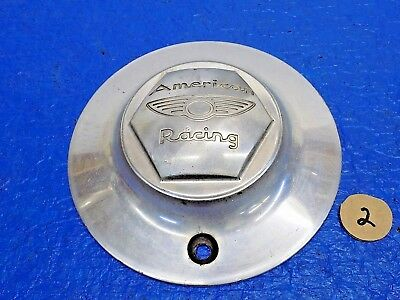 "Mar American Racing Wheel Part Aluminum Center Cap 7"" dia"