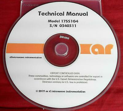 Amplifier Research 175S1G4 Technical Manual