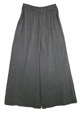 Eileen Fisher Womens Pants Gray Size Small S Pleated Wide Leg Stretch $168- 212