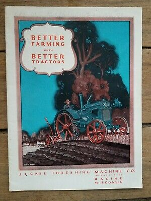 """J. I. Case Threshing Machine Co., """"Better Farming with Better Tractors"""" Catalog"""