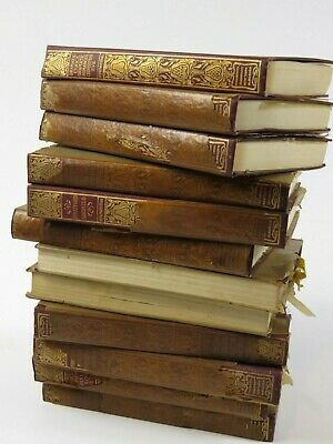 Antique Book Set Robert Browning 12 Volumes Thomas Crowell 1898 Poetry Book FINE