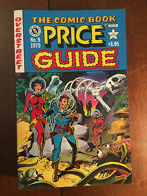 Overstreet Price Guide # 9 Softcover Very Fine 1979 Wally Wood