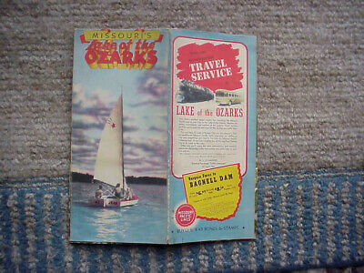 1942 Lake Of The Ozarks Map And Sales Brochure