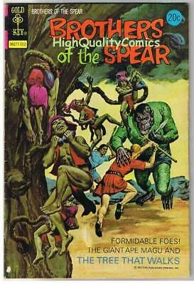 BROTHERS of the SPEAR #7, FN, Gold Key, 1972, more Bronze age in store