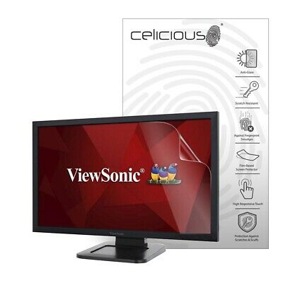 Celicious Matte ViewSonic TD2421 Anti-Glare Screen Protector [Pack of 2]