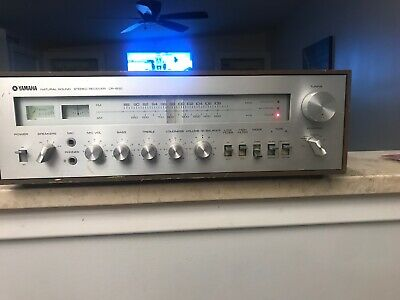 Vintage Yamaha CR-600 AM/FM Natural Sound Stereo Receiver FOR PARTS/REPAIR