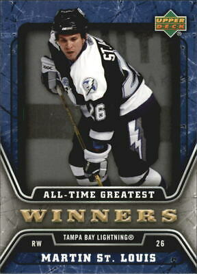 2006-07 Upper Deck All-Time Greatest #ATG20 Martin St. Louis - NM-MT
