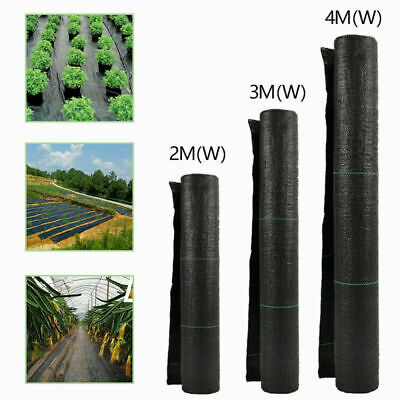 Fabric Weed Control Membrane Garden Ground Cover Mat Landscape Sheet Heavy Duty
