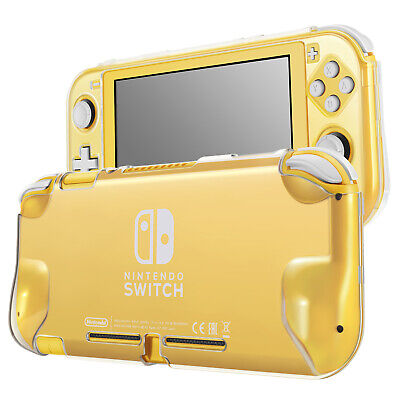 Hard Case for Nintendo Switch Lite Case Skin Cover (Crystal Clear) Comfort Grip