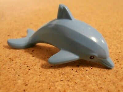 Lego City Animal Bright Light Blue Dolphin Friends Elves NEW