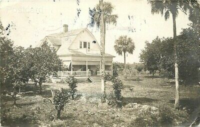 FL, Fort Myers, Florida, Home, RPPC