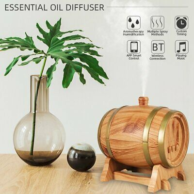 LED Essential Ultrasonic Humidifier Air Aroma Diffuser Purifier Aromatherapy Oil
