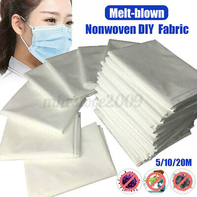 Melt-blown Nonwoven Fabric Craft Fusible Interlining Filter Layer 5/10/20M