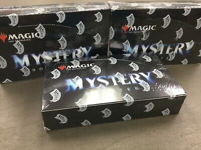 MTG x3 Mystery Factory Sealed Booster Boxes with 24 packs inside