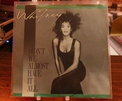 "Whitney Houston - Didn't We Almost Have it All - Shock Me - 7 "" Vinyl -"