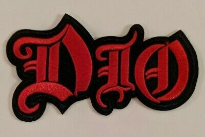 Ronnie James Dio Embroidered Iron-on Heavy Metal Band Patch