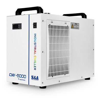 S&A CW-5000 Industry Water Chiller Cool for 80W 100W Laser Tube 2 Years Warranty