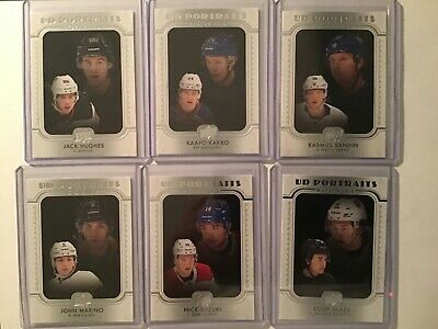 2019-20 Upper Deck Series 2 UD Portraits Rookies U-Pick Free Combined Shipping