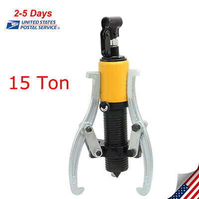 15T Hydraulic Gear Wheel Bearing Puller-3 Reversible Jaws Extractor High Quality