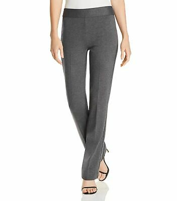 Le Gali Womens Pants Gray Size 6 Mid-Rise Dress Straight Stretch $119 367