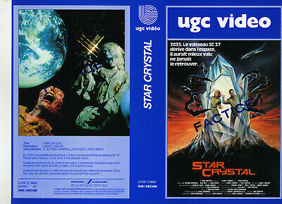 jaquette video(seul sans vhs) STAR CRYSTAL-UGC-RARE