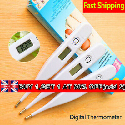 Baby Adult Temperature Meter LCD Digital Thermometer Fever Measuring Portable UK