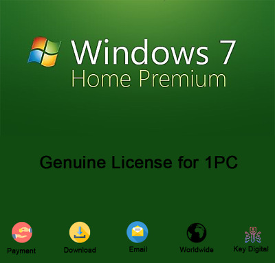 Windows 7 Home Premium 32/64 Bit Product Key Download Genuine