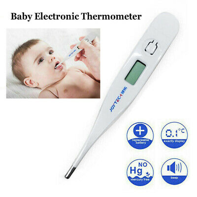 Medical Oral LCD Digital Thermometer For Baby Adult Body Safe Ear Temperature