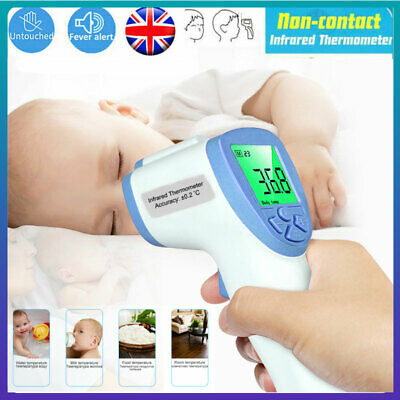 Non-Contact Forehead Body Thermometer Digital IR Infrared Termometer Baby Kids