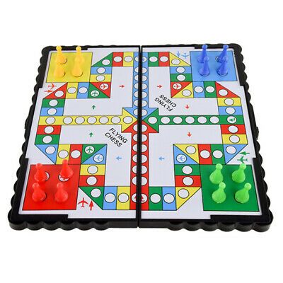 Magnetic Large Ludo Traditional Board Game Gift For Adult Children 21X 21cm