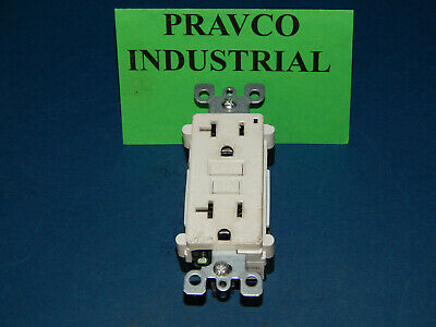 Leviton B-450980 Duplex Receptacle Ground Fault Circuit Interrupter 20A 125V