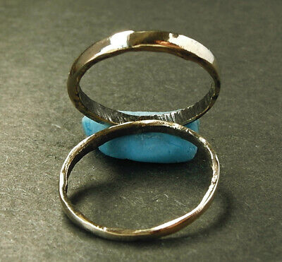 Genuine ancient Viking small bronze rings. Found nr Scarborough