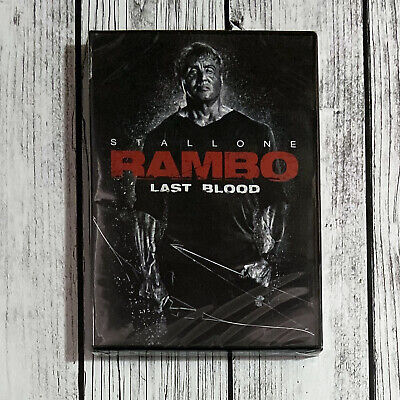 Rambo Last Blood (DVD, 2019 1-Disc) Sylvester Stallone US Seller Free Shipping