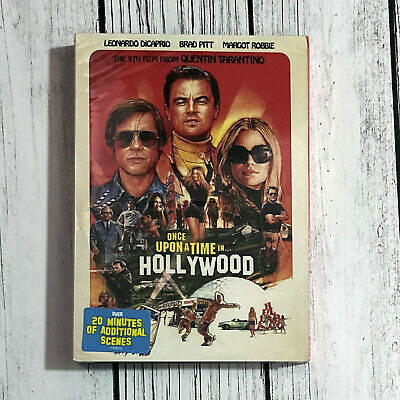Once upon a Time in Hollywood (DVD 2019 1-Disc) Free Shipping USPS First Class