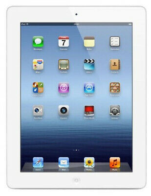 "Apple IPAD 3 9.7 "" 32GB Wifi + LTE Ios Tablette Blanc - Bon État"