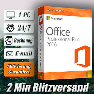 Microsoft Office 2016 Professional Plus➽MS Office 2016 Pro Plus ➽ESD per E-mail