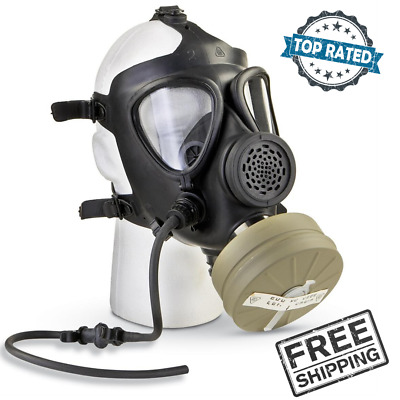 Israeli Military Surplus M15 Gas Mask with Filter, New