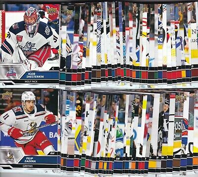 2019-20 19-20 Upper Deck Ahl Hockey Base Singles 1-90 Choose Your Player