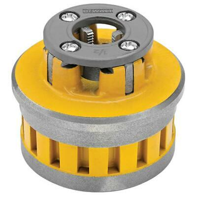 "DeWalt DCE700012 60V MAX 1/2"" High-Speed Pipe Threader Die Head"