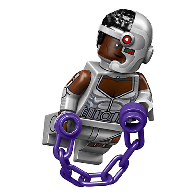 Lego Minifig Cyborg DC Super Heroes Minifigure Series Choose Part NEW