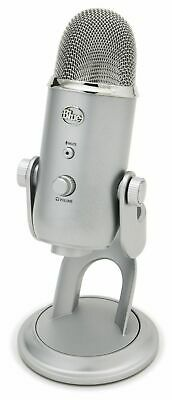 Blue Yeti USB Mic for Recording & Streaming on PC and Mac, 3 Condenser Capsules,