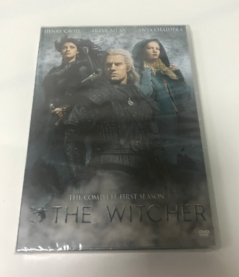 The Witcher: The Complete First Season (DVD, Region 1) Season 1 New & Sealed