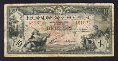 CANADA - Bank of Commerce.  P-S971a. 1935 10 Dollars..  Aird/Logan.. aFine