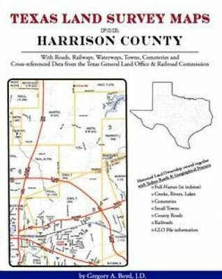 Texas Land Survey Maps for Harrison County