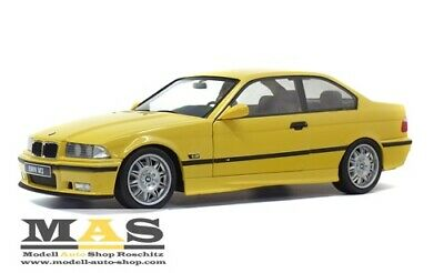 BMW E36 Coupe M3 gelb yellow Solido 1/18 NEW OVP