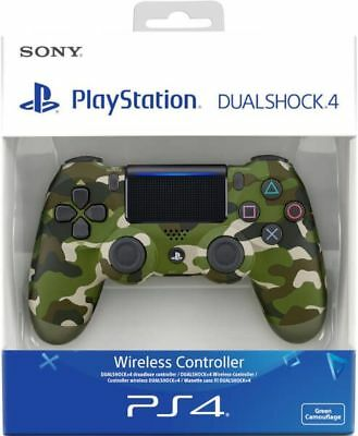 Sony Official Dualshock 4 Controller (GREEN CAMO) (PS4) Brand New & Sealed